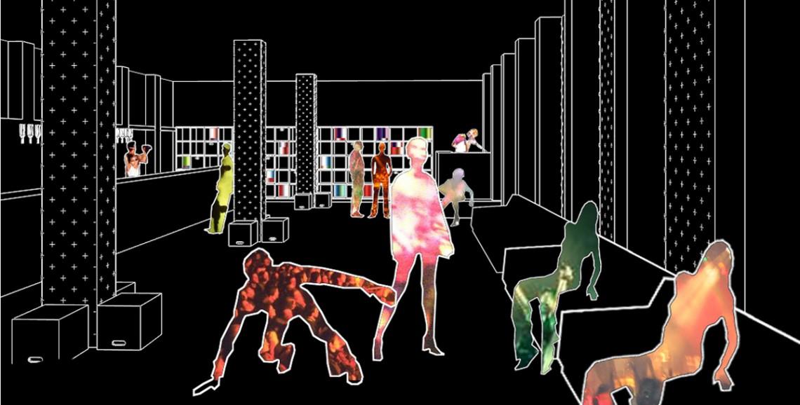 Hradil, raumlos, raum.los, raum.los – architektur, Veranstaltung, Veranstaltungszentrum, Poolbar, Verein zur Förderung der kulturellen Vielfalt, Festival, Festivalzentrum, temporär, Österreich, Austria, Vorarlberg, Feldkirch