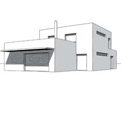 Hradil, Tesch, raumlos, raum.los, raum.los – architektur, Wohnhaus, Einfamilienhaus, Österreich, Austria, Wien, Eßling, Essling, Massivbau