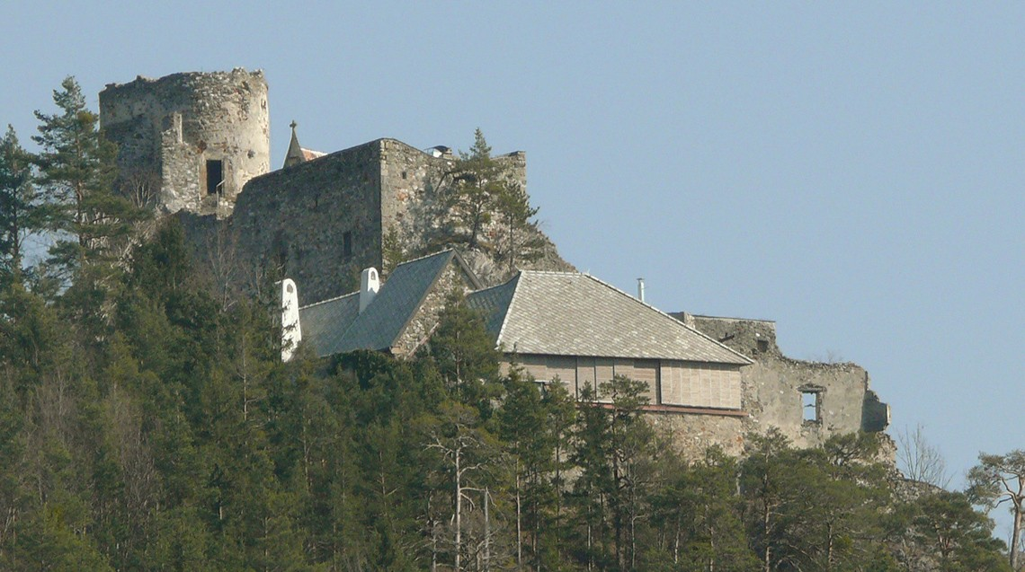 Hradil, Tesch, raumlos, raum.los, raum.los – architektur, Klamm, Burg Klamm, Schottwien